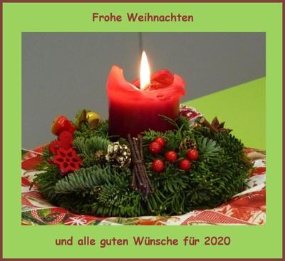 Weihnachts- und Neujahrswünsche