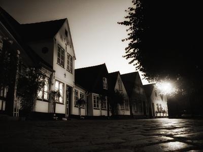 nachts im Fischerdorf