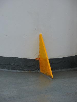Gelbe Stütze