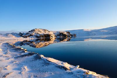 Island-Winter:Kleifarvatn