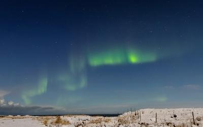 Island-Winter:Aurora