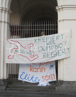 Bologna-Reform: Bildungsstreik / Foto: Alexander Hauk
