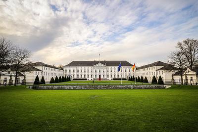 Der Hof des Schloss Bellevue