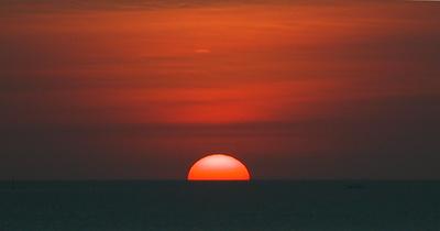 Sunset in Makasser