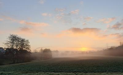 Ein nebeliger Morgen