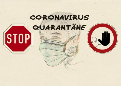STOP – Coronavirus Quarantäne