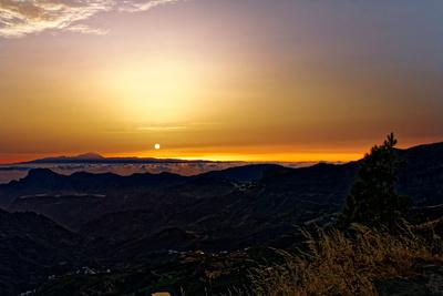 Sonnenuntergang auf Gran Canaria