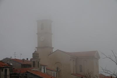 Nebel über Baiardo