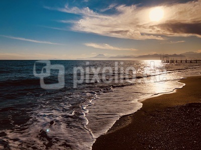 Strandromantik am Nachmittag