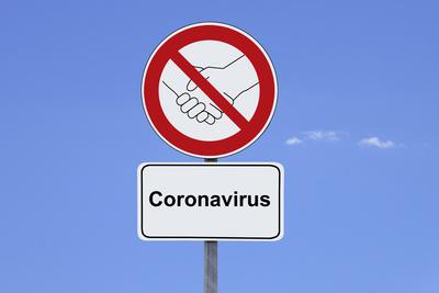 Coronavirus – Händeschütteln verboten