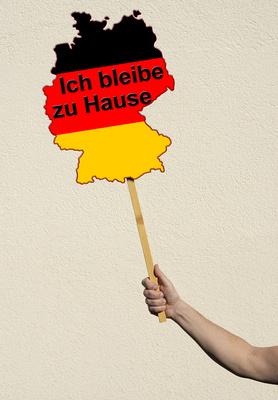 Deutschland bleibt zu Hause