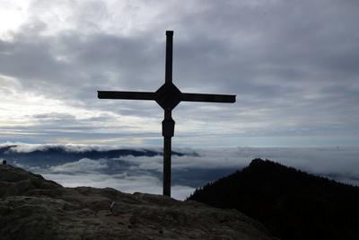 Gipfelkreuz am Oser