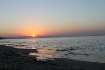 Sonnenuntergang Denia (Spanien)