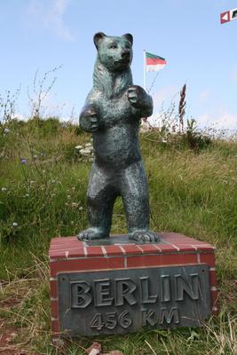 Berliner Bär auf Helgoland