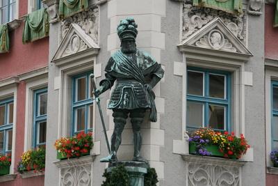 Standbild Georg von Frundsberg in Mindelheim / Foto: Alexander Hauk