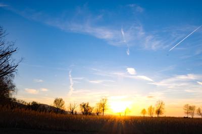 Bodensee im Gegenlicht