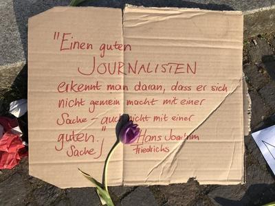 Woran man einen guten Journalisten erkennt... / Foto: Alexander Hauk