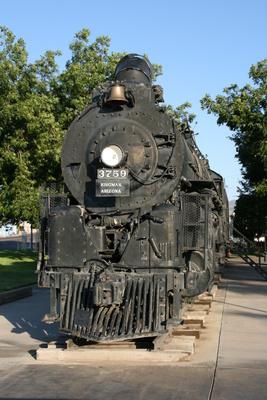 Dampflokomotive in Kingman
