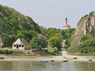 Am Donauufer in Serbien