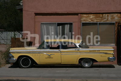 Altes Taxi - Yellow Cab - USA