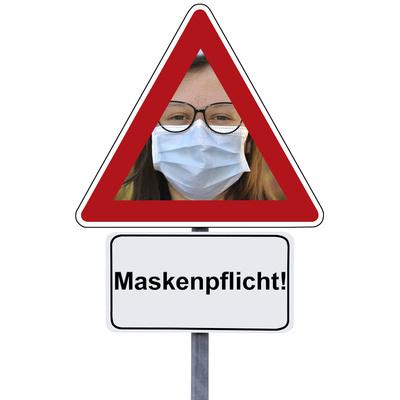 Maskenpflicht, Maske tragen