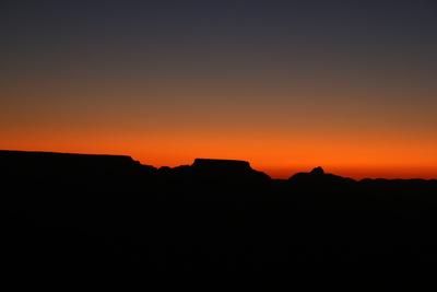 Sonnenaufgang am Grand-Canyon-Nationalpark, USA