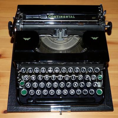 Schreibmaschine Continental 100
