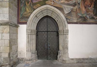 Deggendorf, Grabkirche, Detail