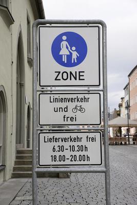 Fußgängerzone, Deggendorf