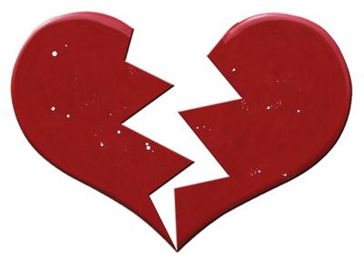 Zerbrochene Liebe
