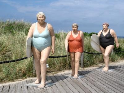 Die drei Frauen in Wenningstedt