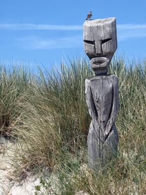 Figur bei Kap Horn