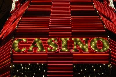 Leuchtreklame Casino Las Vegas