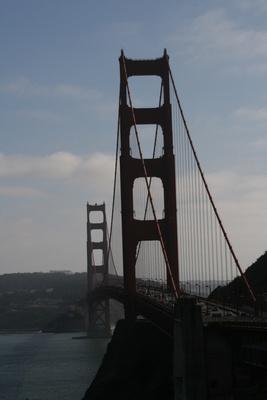 Golden Gate Bridge San Francisco USA (2009)