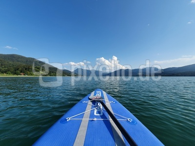 SUP / Stand Up Paddling Tegernsee