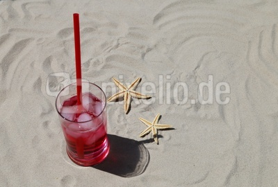 Long Drink am Strand