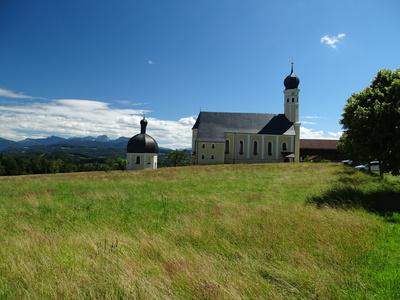 Kirche am Irschenberg