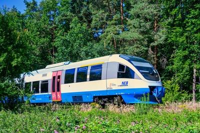 Mit dem Zug ins Grüne