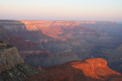 Sonnenaufgang Grand Canyon, USA, 2009