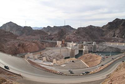 Blick auf den Hoover Dam (USA, 2009)