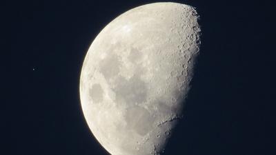 Mond über Java