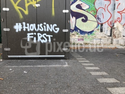 Graffiti: Housing first