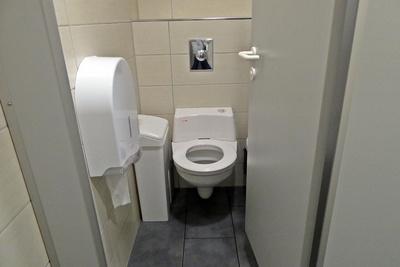 Saubere öffentliche Toilette