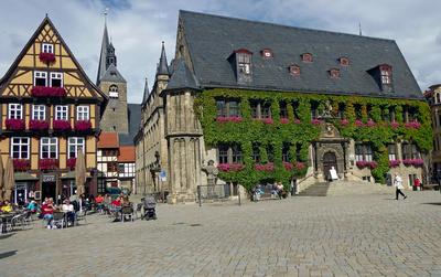 Rathaus zu Quedlinburg Harz