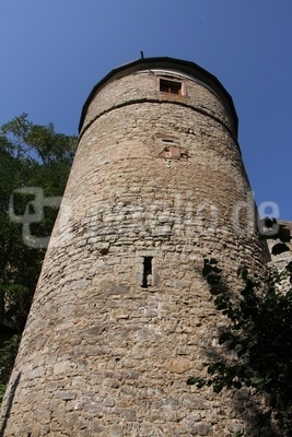 Bergfried von der Trimburg