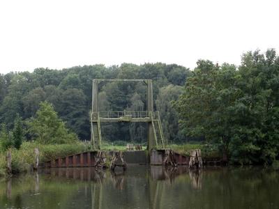 Schleusenanlage bei Münsterdorf
