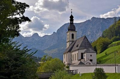 Kirche Ramsau/Bayern