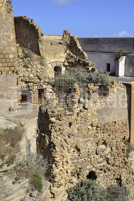 Procida, Terra Murata, Mittelalterliche Festung