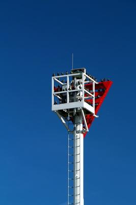 Tauben auf Turm