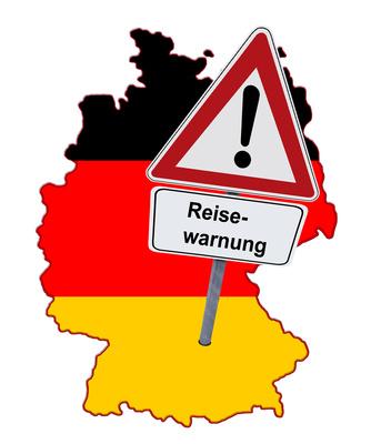 Reisewarnung für Deutschland